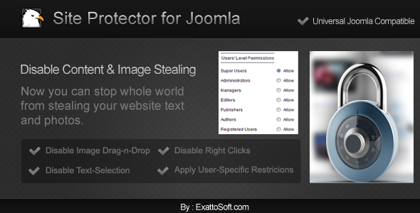 Site Protector for Joomla